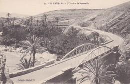 CARTOLINA - POSTCARD - ALGERIA - EL - KANTARA - L' ONED ET LA PASSERELLE - Algeria