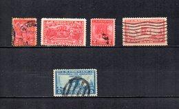 EEUU   1927-28  .-  Y&T  Nº   271-272-274-279-280 - Used Stamps