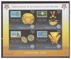 0917 Peru 2005 50 Year Europe CEPT S/S MNH - Europa-CEPT
