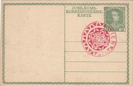 Jubiläumskarte KAISER FRANZ JOSEF 1908, Sonderstempel - Königshäuser