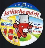 """Etiquette Fromage La Vache Qui Rit  Mettez Du Sourire Dans Tous Vos Plats 32 Portions  """" - Fromage"""