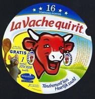 """Etiquette Fromage La Vache Qui Rit  Gratis 1 Textile Stocker Textile  Ratatouille  16 Portions  """" - Käse"""