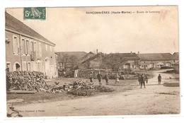 Cpa Ranconnieres Route De Lavernoy - éditeur Guyonnet - Scans Recto Verso - Autres Communes