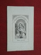 Caroline Gheerbrant - Castelein Née à Wervicq  1790 Décédé à Avelghem 1849  (2scans) - Religion & Esotérisme