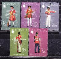 Antigua  1971 Uniformi -Serie Completa Nuova MLH - Antigua & Barbuda (...-1981)