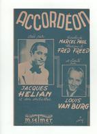 Partition Accordéon Louis Van Burg - Scores & Partitions