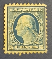 1917 George Washington, United States Of America, USA, Used - Oblitérés