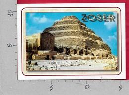 CARTOLINA VG EGITTO - SAKKARA - Pyramid Adegres De Zoser - 10 X 15 - ANN. 2007 - Piramidi