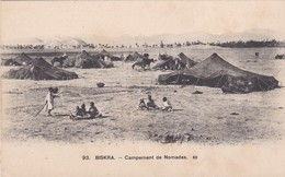 CARTOLINA - POSTCARD - ALGERIA - BISKRA - CAMPEMENT DE NOMADES. ND - Algeria