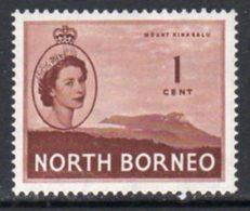 Malaya North Borneo 1954 Definitives 1c Value, MNH, SG 372 - North Borneo (...-1963)