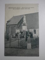 59 Malincourt, Monument Aux Morts. Carte Inédite (4816) - Other Municipalities