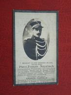 Wachtmeester Gendarmerie Pierre Neyrinck Geboren Te St.Maertens-Laethem 1884 En Overleden Te Brugge 1927  (2scans) - Religion & Esotérisme
