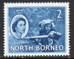 Malaya North Borneo 1954 Definitives 2c Value, MNH, SG 373 - North Borneo (...-1963)