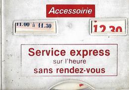 PUBLICITE  Disque De Stationnement CITROEN 75116 PARIS AUTEUIL - Other
