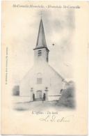 St-Cornelis Hoorebeke NA1: De Kerk 1902 - Horebeke