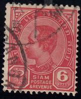 Siam  6 Atts Gestempelt - Unclassified