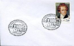 39992 Italia, Special Postmark 2018 Genova Festival Violinist Paganini, - Music