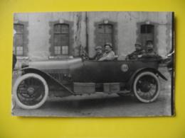 CARTE PHOTO MILITAIRE /  VOITURE  / Marquée C.I.A - War 1914-18