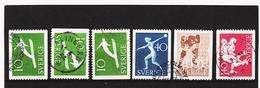 ECK1018 SCHWEDEN 1953 Michl 379/82 Gestempelt SIEHE ABBILDUNG - Schweden
