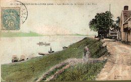 7691  -2018    ST BENOIT SUR LOIRE   LES BORDS DE LA LOIRE   AU PORT - France