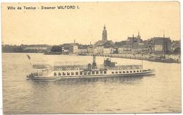 Ville De Tamise NA9: Steamer Wilford - Temse