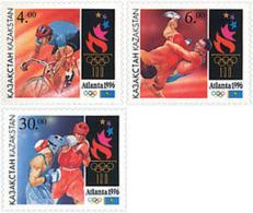 Ref. 29165 * NEW *  - KAZAKHSTAN . 1996. GAMES OF THE XXVI OLYMPIAD. ATLANTA 1996. 26 JUEGOS OLIMPICOS VERANO  ATLANTA 1 - Kazajstán