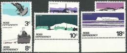 ROSS-GEBIET 1972 Mi-Nr. 9/14 ** MNH - Ross-Nebengebiet (Neuseeland)