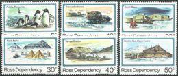 ROSS-GEBIET 1982 Mi-Nr. 15/20 ** MNH - Ross Dependency (New Zealand)