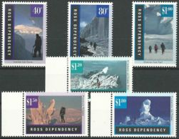 ROSS-GEBIET 1996 Mi-Nr. 38/43 ** MNH - Ross Dependency (New Zealand)