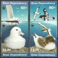 ROSS-GEBIET 1996 Mi-Nr. 50/53 ** MNH - Ross Dependency (New Zealand)