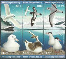 ROSS-GEBIET 1997 Mi-Nr. 44/49 ** MNH - Ross Dependency (New Zealand)