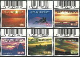 ROSS-GEBIET 1999 Mi-Nr. 60/65 ** MNH - Ross Dependency (New Zealand)
