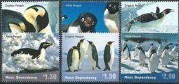 ROSS-GEBIET 2001 Mi-Nr. 72/77 ** MNH - Ross Dependency (New Zealand)