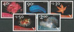 ROSS-GEBIET 2003 Mi-Nr. 84/88 ** MNH - Ross Dependency (New Zealand)