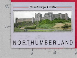 CARTOLINA VG REGNO UNITO - NORTHUMBERLAND - Bamburgh Castle - 10 X 15 - ANN. 1989 - Inghilterra