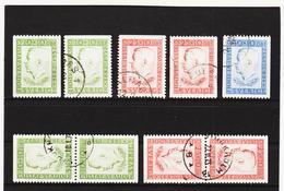 ECK1014 SCHWEDEN 1952 Michl 376/78 Gestempelt SIEHE ABBILDUNG - Schweden