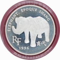0446 - 10 Francs - 1996: Trésors Des Musées - Eléphant époque Shang -argent 900‰ - Commémoratives
