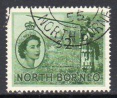 Malaya North Borneo 1954 Definitives $2 Value, Used, SG 384 - North Borneo (...-1963)