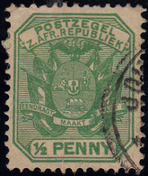 Z.Afr.Repupliek 1/2 Penny Gestempelt - Unclassified
