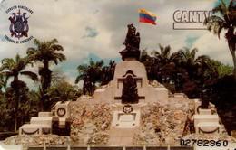 TARJETA TELEFONICA DE VENEZUELA. EJERCITO VENEZOLANO. MONUMENTO ALTAR DE LA PATRIA 1/3 -  04.98, CAN2-0337 (626) - Army