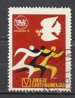 7466C-SELLO VIÑETA CARTAGENA MURCIA 1972 JUEGOS GARTAGINESES,CARTAGINESES ROMANOS VIÑETAS,VIGNNETTE,VIGNETTEN,CINDERELLA - Otros