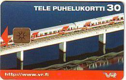 FINLANDE A PUCE 30 MK TRAIN INTERCITY NEUVE MINT SUPERBE - Finland