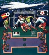Ref. 54390 * NEW *  - LIBYA . 1985. FOOTBALL WORLD CUP. MEXICO-86. COPA DEL MUNDO DE FUTBOL. MEXICO-86 - Libia