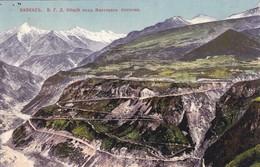 RUSSIA. LE CAUCASE. LA ROUTE MILITAIRE DE GEORGIE. CIRCA 1900s. TBE -BLEUP - Rusland