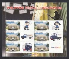 Filippine Philippines Philippinen Pilipinas 2017 Philpost Sheetlet P.18, Dated 2016 (1st Printing) - MNH** - Filippine