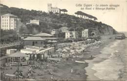 ITALIE - Celle Ligure -La Ridente Spiaggia Del Piani E Albergo Aurelia - Savona