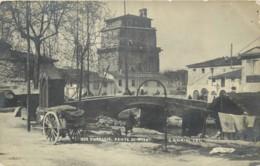 ITALIE - VIAREGGIO - Ponte Di Pisa Nell 1905 - Cartolina Foto Magrini 1035 - Viareggio