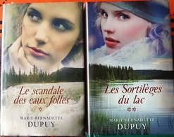 LE SCANDALE DES EAUX FOLLES Suivi De LES SORTILEGES DU LAC (Marie Bernadette Dupuy) - Books, Magazines, Comics