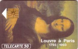 FRANCE PRIVEE 50U UT EN 622 LA JOCONDE LOUVRE VINCI LUXE - 50 Unités