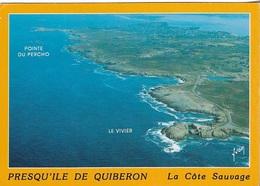 CARTES GÉOGRAPHIQUES - LA PRESQU'ILE DE QUIBERON - CPM - ÉCRITE - - Maps